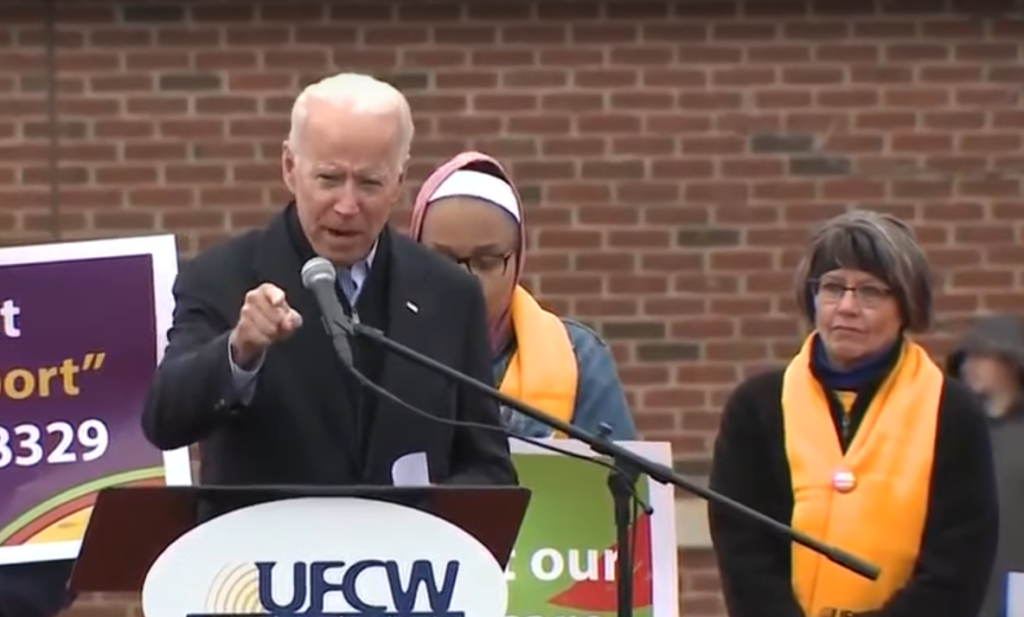 Joe Biden UFCW Union